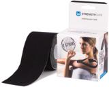 StrengthTape Kinesiologie tape 5m Pre-cut - Zwart_