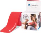 StrengthTape Kinesiologie tape 5m Pre-cut - Rood_