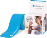 StrengthTape Kinesiologie tape 5m Pre-cut - Lichtblauw_