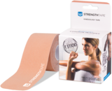 StrengthTape Kinesiologie tape 5m Pre-cut - Beige_