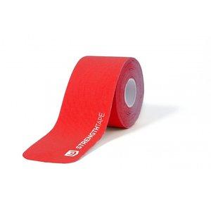 StrengthTape Kinesiologie tape 5m Pre-cut - Rood