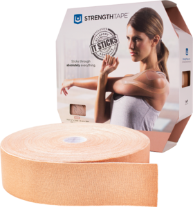 StrengthTape Kinesiologie tape 35m Uncut – Beige